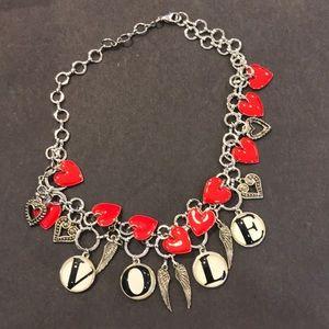 'Crazy Mixed Up Love' Designer Necklace